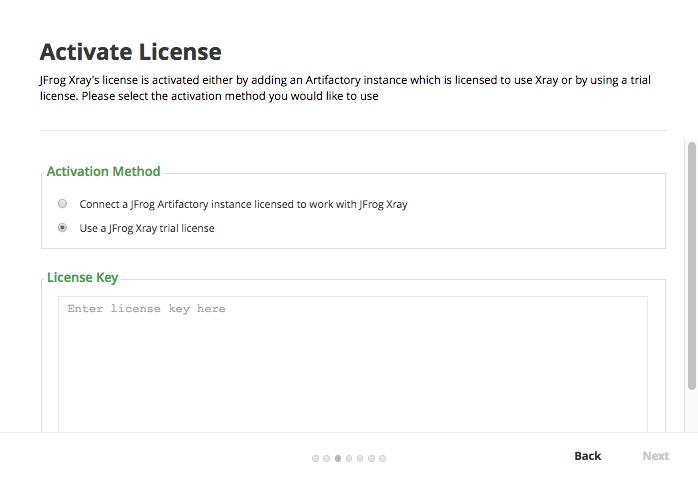 Onboarding - License