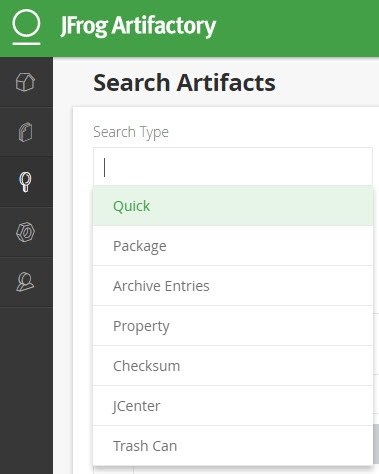 Searching for Artifacts - JFrog Artifactory - JFrog Wiki