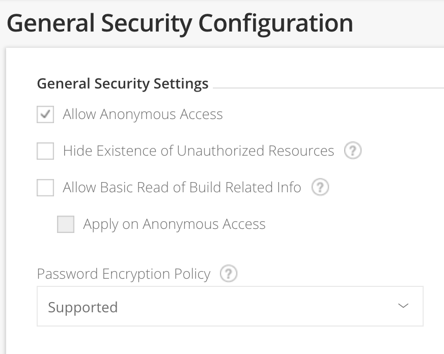Configuring Security - JFrog Artifactory - JFrog Wiki