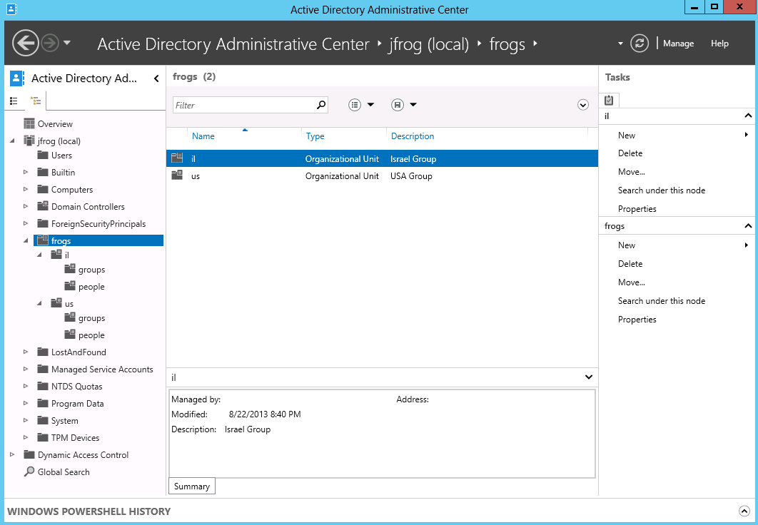 Managing Security With Active Directory Jfrog Artifactory User Guide