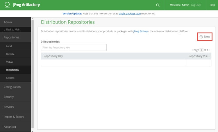 Distribution Repositories