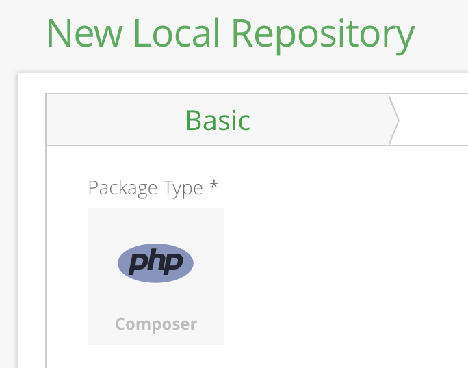 install composer package from github