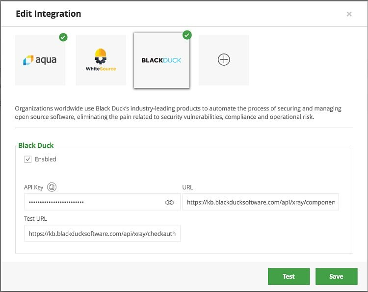 Black Duck Integration