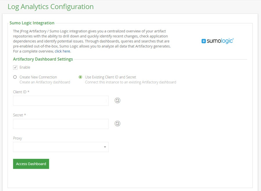 Log Analytics Configuration