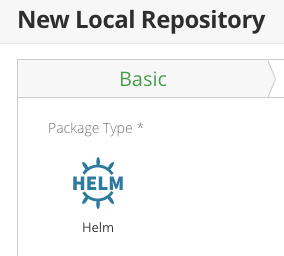 New Helm Local Repository