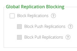 Global Replication Blocking