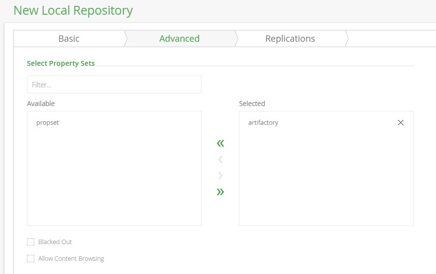 Local Repositories - Artifactory 5 x - JFrog Wiki