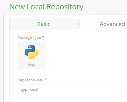 New local PyPI repository