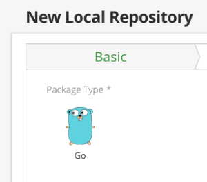 Local Go Repository