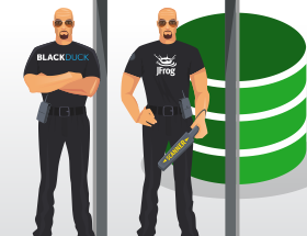 JFrog and Black Duck Sentinels for Open Source Security