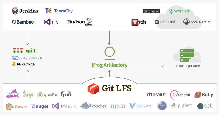 Git LFS Repositories